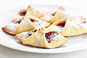 Творожные печенья с вареньем