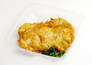 куриное филе в омлете в духовке
