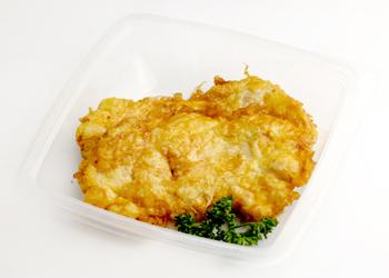 Куриное филе в омлете