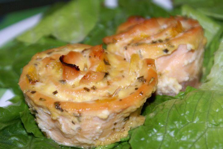 Рецепт рыбного рулета в духовке с фото