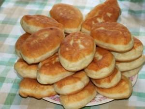 Пирожки на кефире приготовленные в духовке