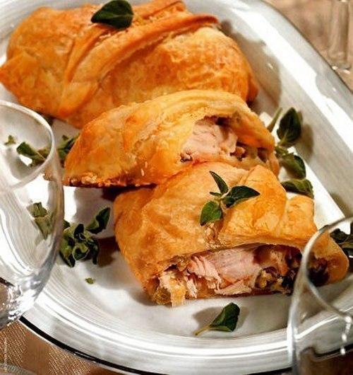 рецепты курица в тесте в духовке рецепт