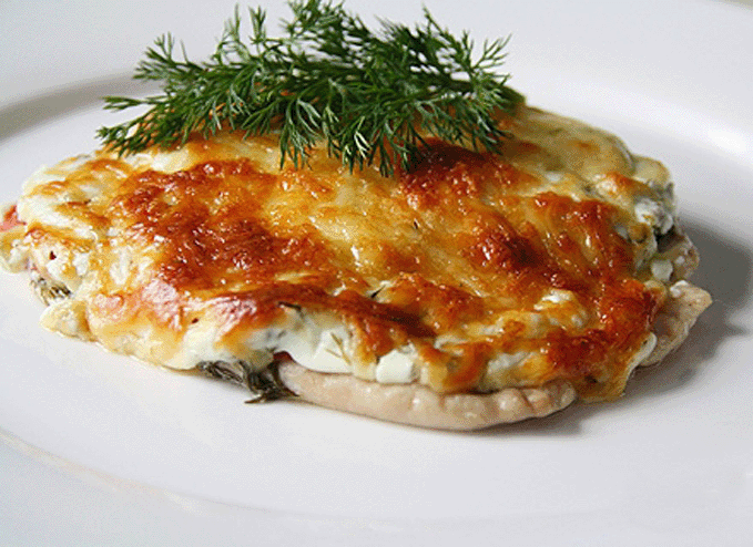 Куриное филе в духовке с помидорами и сыром рецепт с пошагово в
