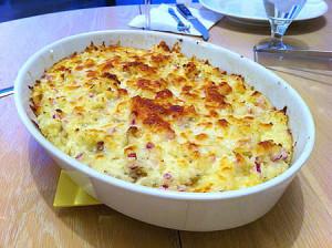 слоеная картошка в духовке