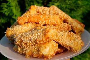 Курица в панировочных сухарях