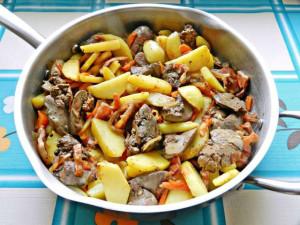 Рецепт приготовления печенка куриная
