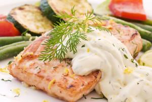 Рыба под соусом Тартар