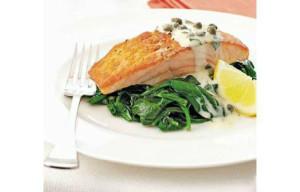 Рыба в соусе Тартар приготовленная в духовке
