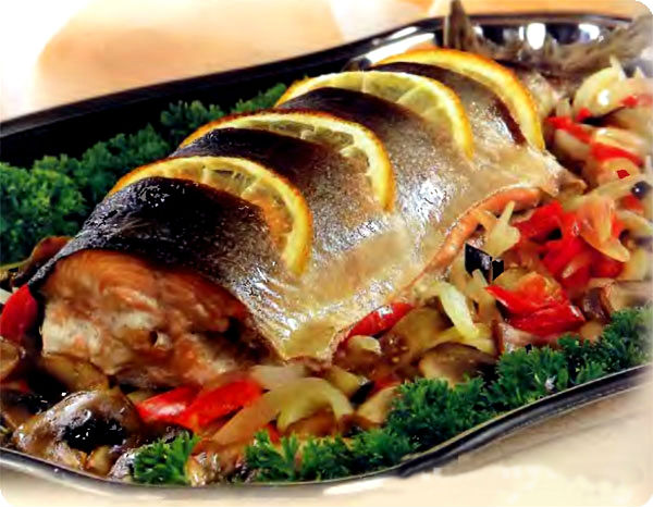 Стейк из красной рыбы в духовке рецепт с фото и видео ...