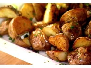 Варенная картошка в духовке