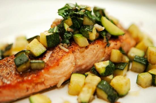 Рыба филе с овощами в духовке рецепт