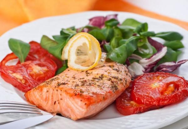 Филе рыбы запеченное в духовке с овощами