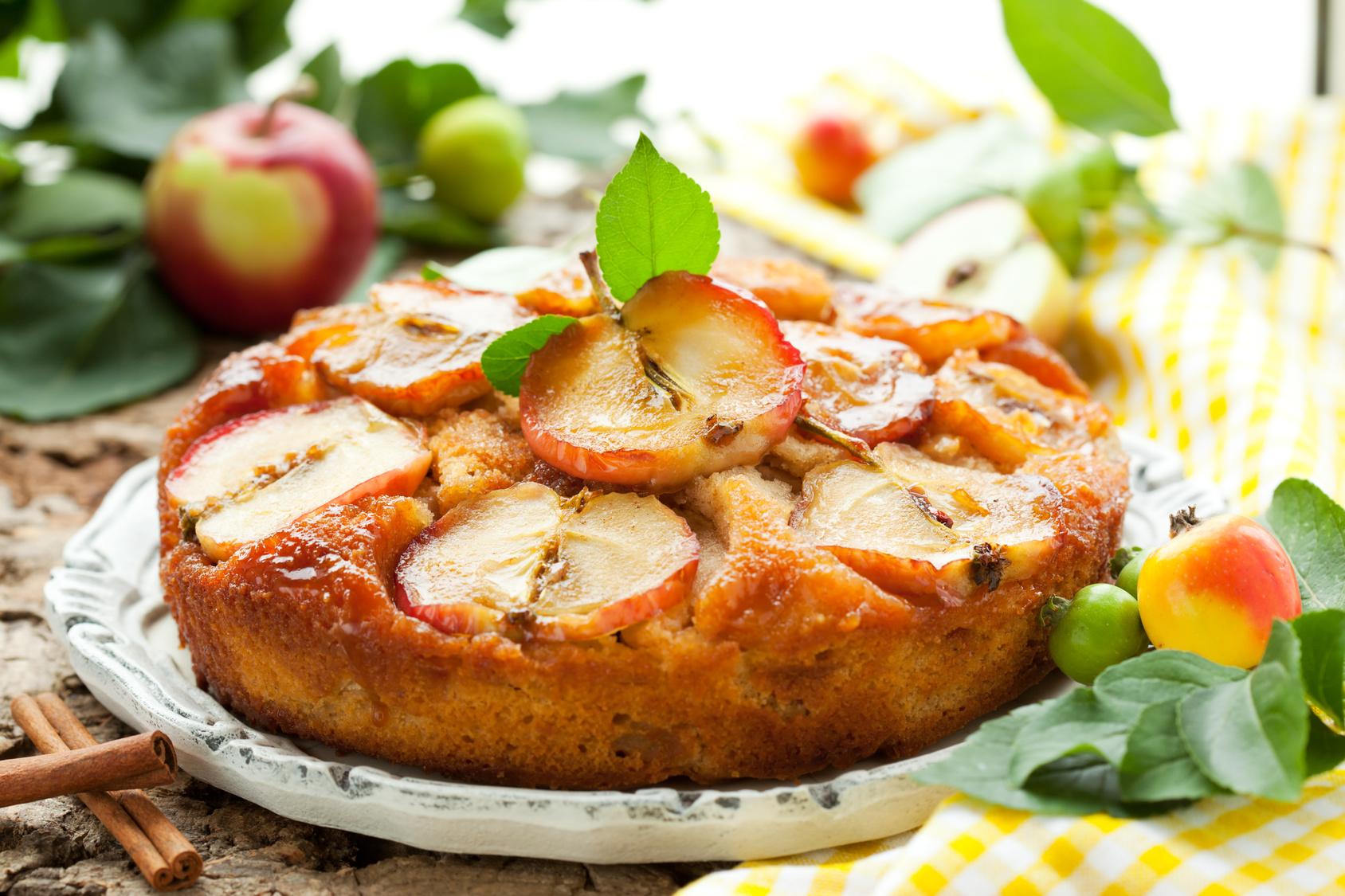 Пирог шарлотка с яблоками рецепт в духовке