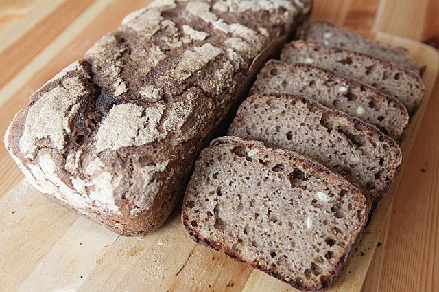 Домашний бездрожжевой ржаной хлеб в духовке рецепты