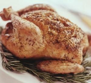 Вареная курица в духовке