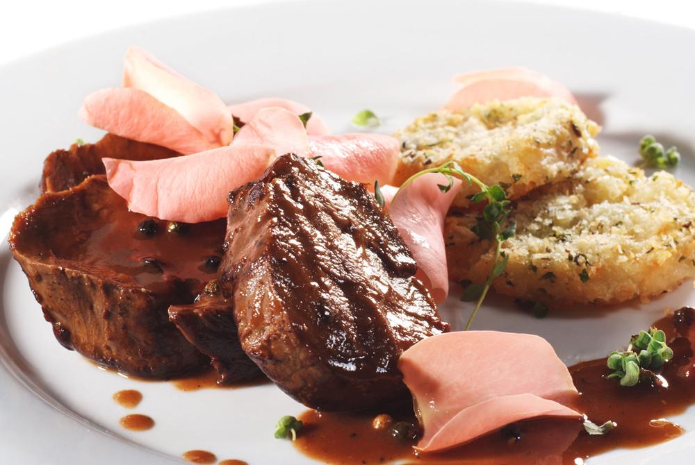 рецепт мяса с аджикой в духовке