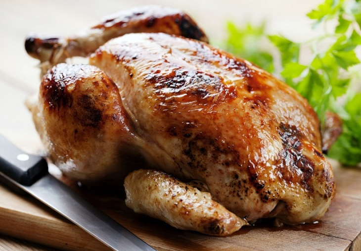курица на вертеле рецепт с фото пошагово