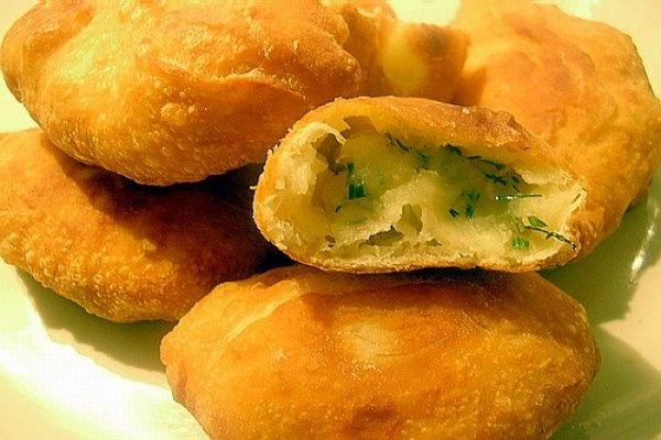 Пирожки с картошкой в духовке