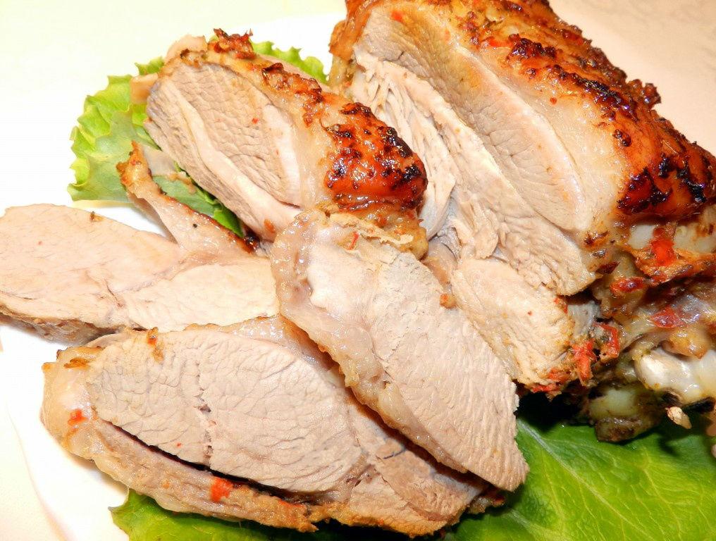 рецепты из курицы в духовке в рукаве