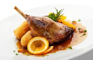 Рецепт утки с апельсинами в духовке
