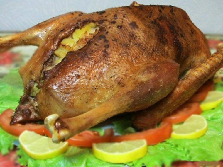 Видео рецепт утки в духовке с картошкой