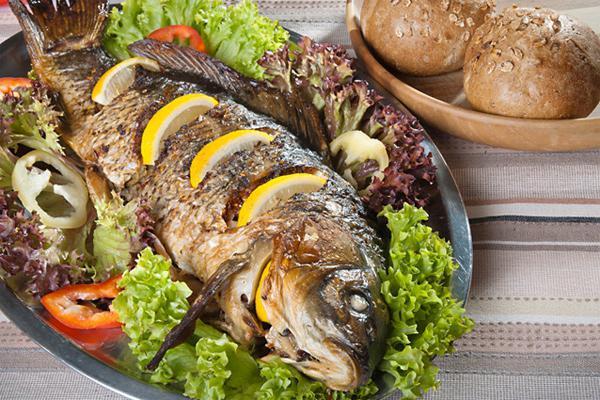рецепт рыбы карпа в фольге в духовке рецепт