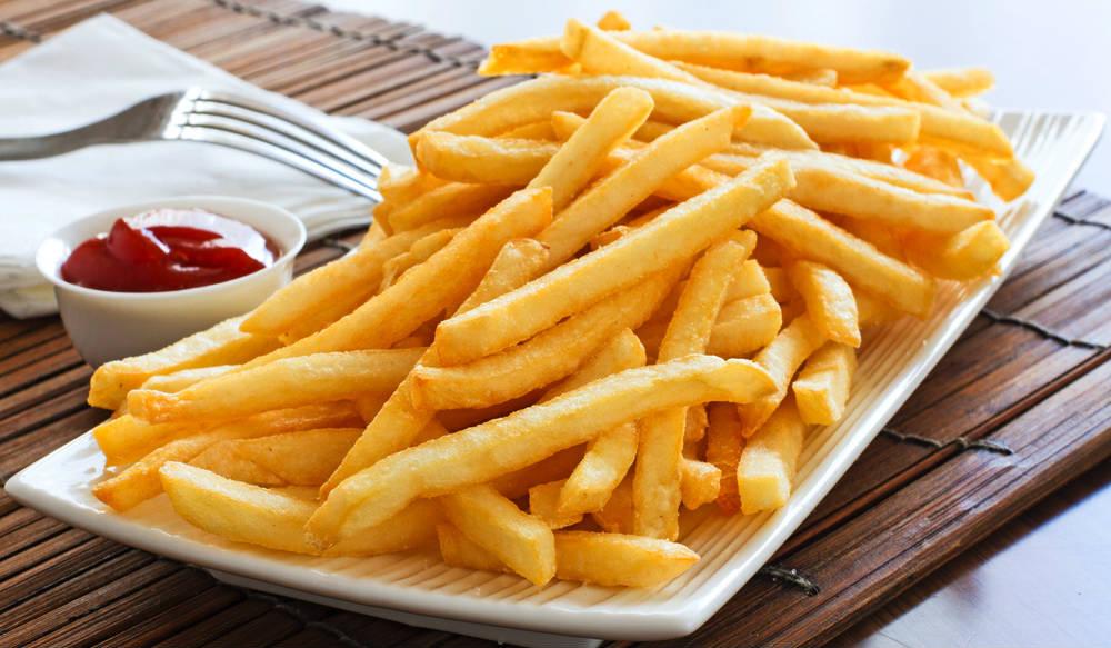 рецепт картофеля фри в духовке с белком