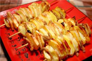 картошка с салом в духовке