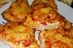 курица с ананасами с рецептами