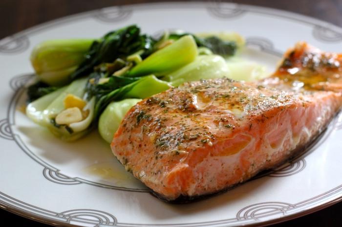рыба фаршированная в духовке с овощами рецепт