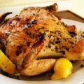 курица в фольге в духовке