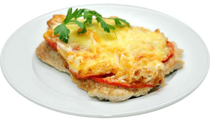 Мясо по-французски с куриным филе рецепт с пошагово