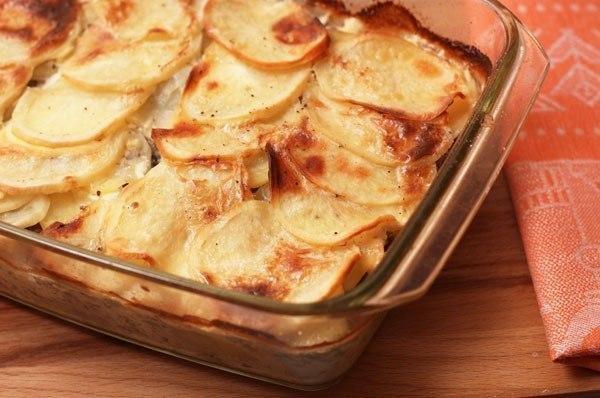 Запеканка картофельная с мясом в духовке рецепты с фото пошагово