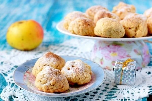 печенье с яблоком и изюмом рецепт соответствии