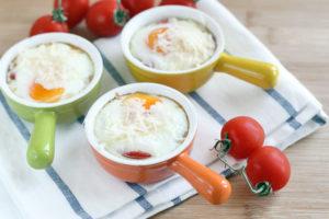 яйца в духовке рецепт