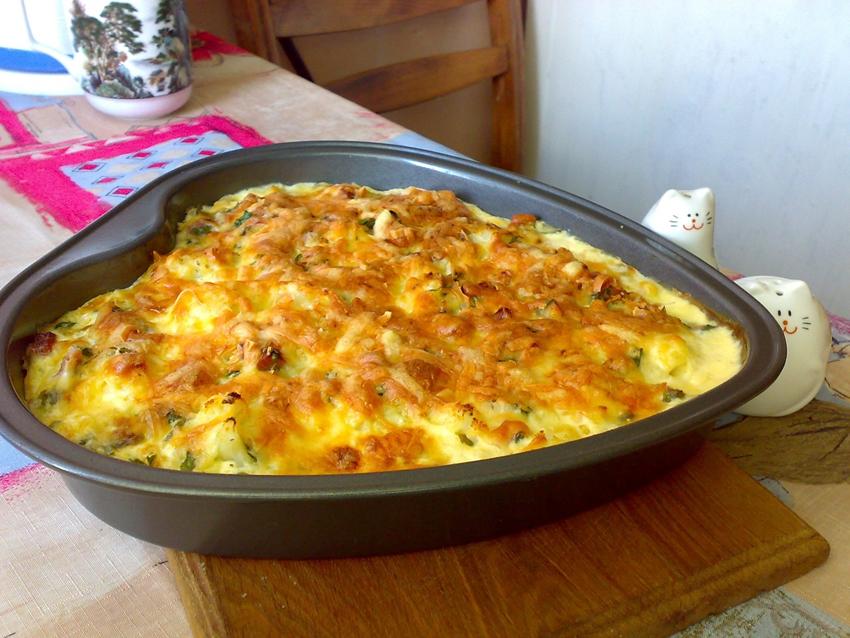Рецепт приготовления капусты в духовке