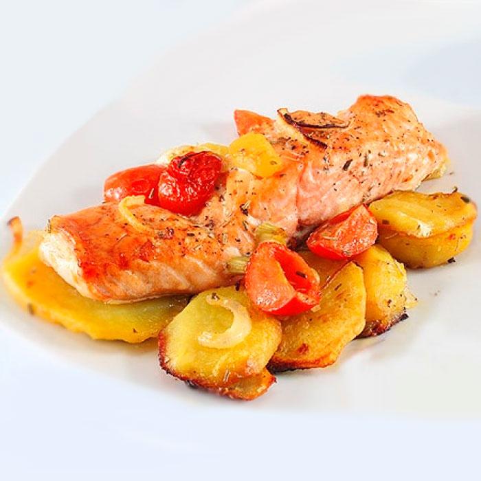кета с картошкой рецепты приготовления