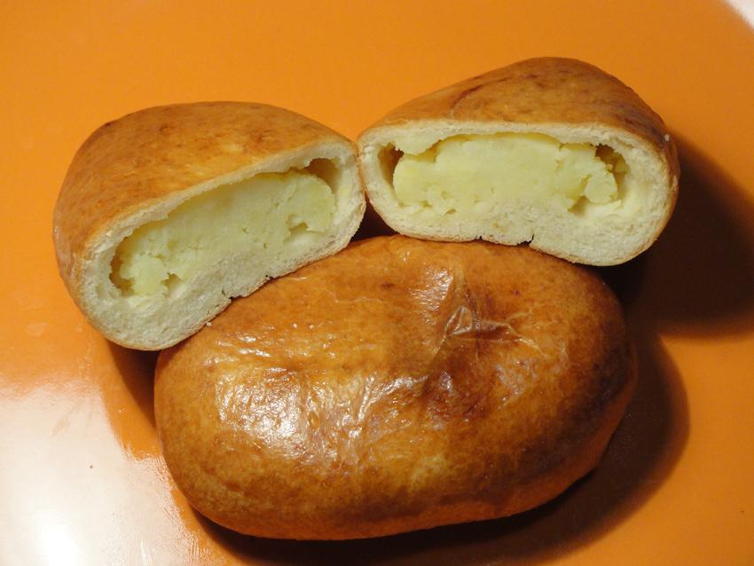 Расстегай с картошкой рецепт