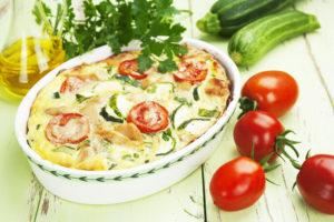 Рецепт запеканки из кабачков в духовке