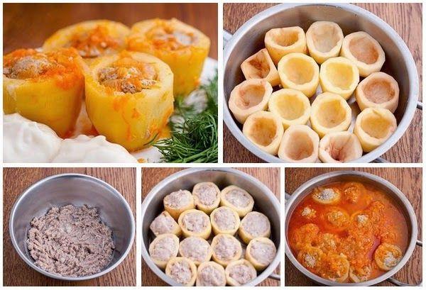 Блюда из картофеля и фарша рецепт