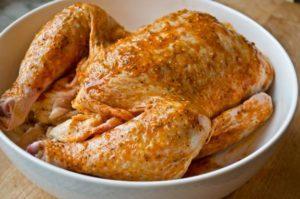 курица с мёдом в духовке