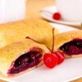 рецепт пирожков с вишней в духовке