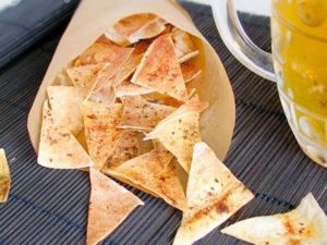 чипсы в духовке рецепт