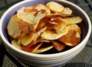 чипсы приготовленные в духовке