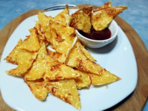 чипсы приготовленные с сыром