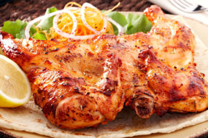 цыпленок табака по-испански