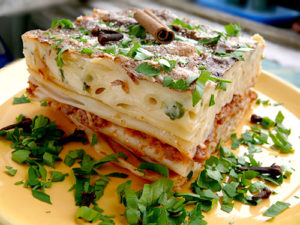 макароны с фаршем в духовке рецепт