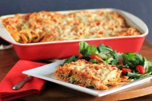 запеканка из спагетти в духовке