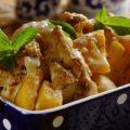 куриное филе с картошкой в духовке