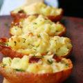 картошка в мундире с беконом